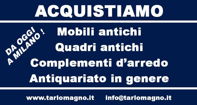 Antiquariato Milano Mobili Antichi Acquisto e Vendita Quadri Antichi