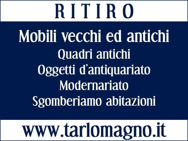 Ritiro mobili usati Torino e provincia. Compro Modernariato Vintage Design