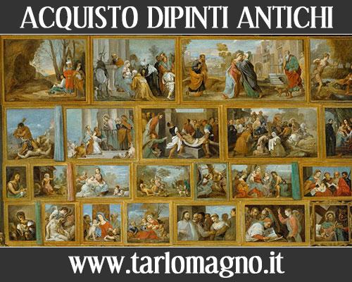 Acquisto vendita quadri antichi dipinti antiquariato